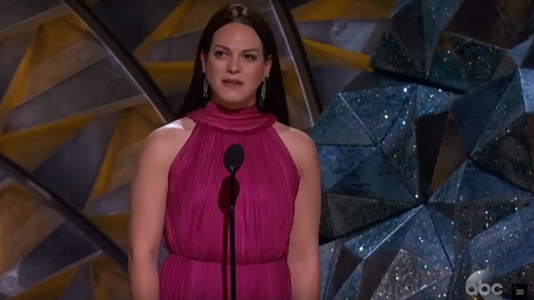 Daniela Vega, Oscars 2018