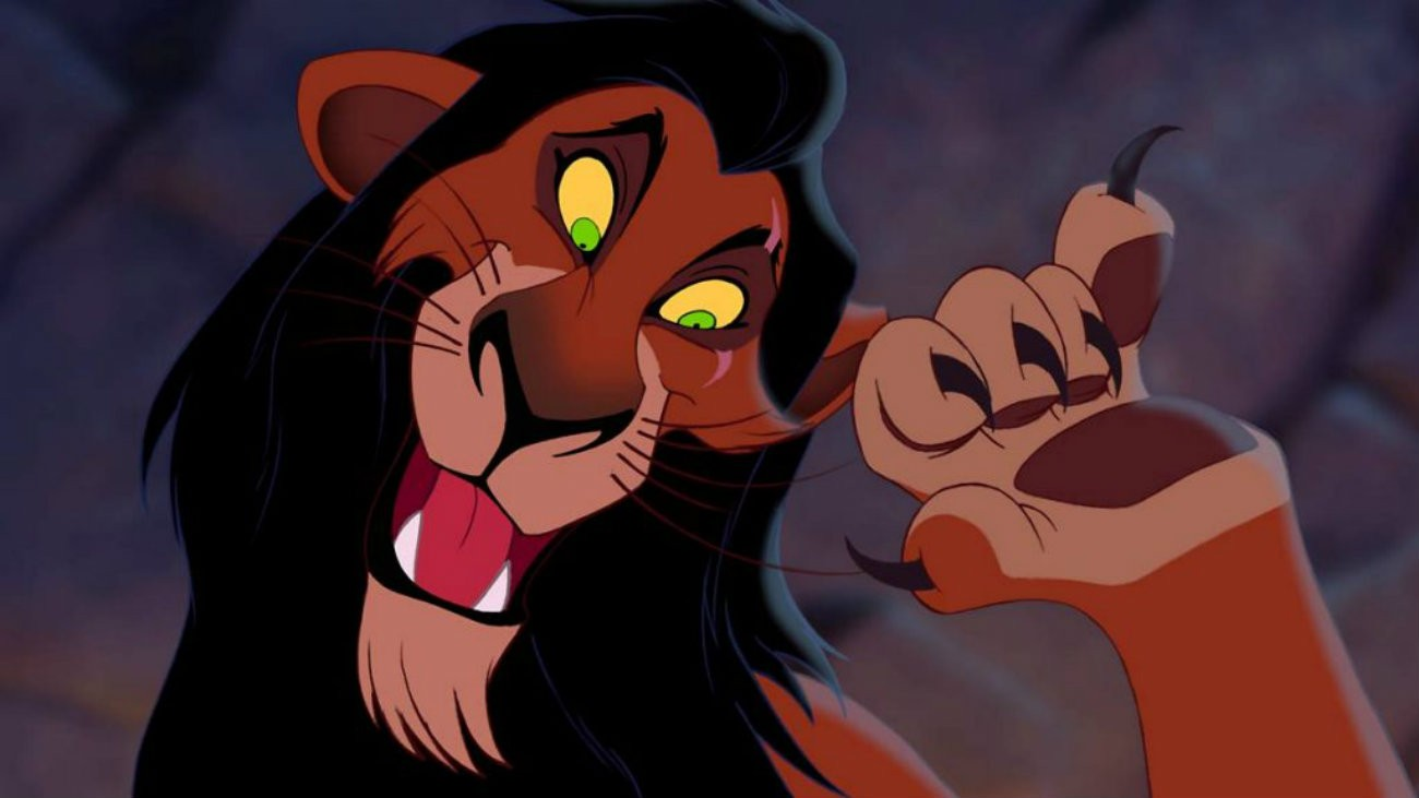 Scar dans « Le Roi Lion »