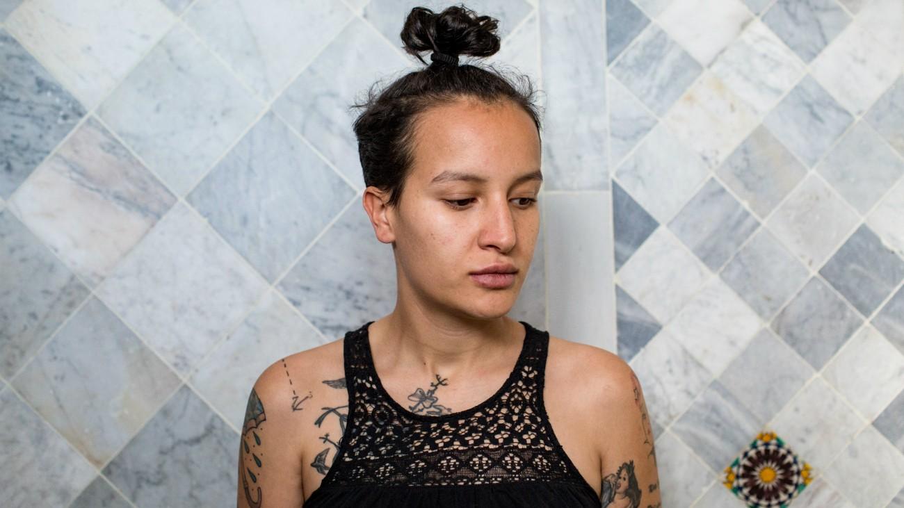 Portrait d'Amina Sboui