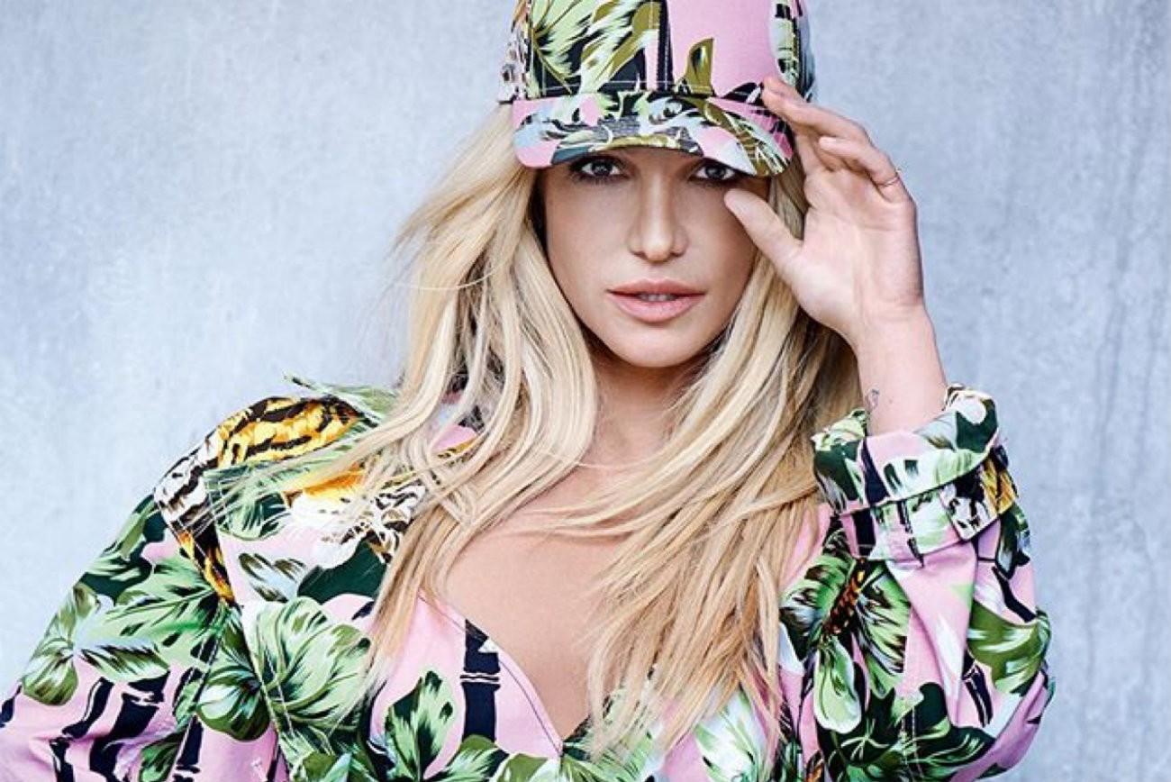 Britney Spears habillée par Kenzo