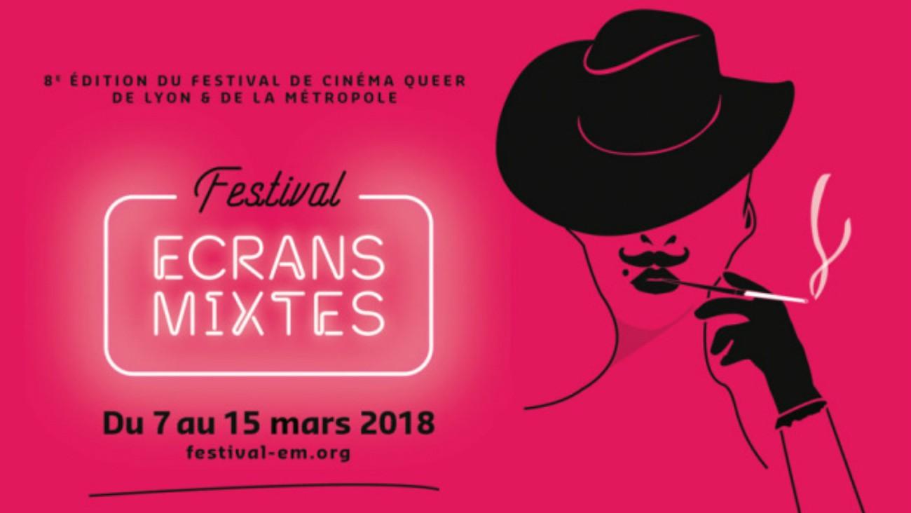 Affiche du festival Écrans Mixtes
