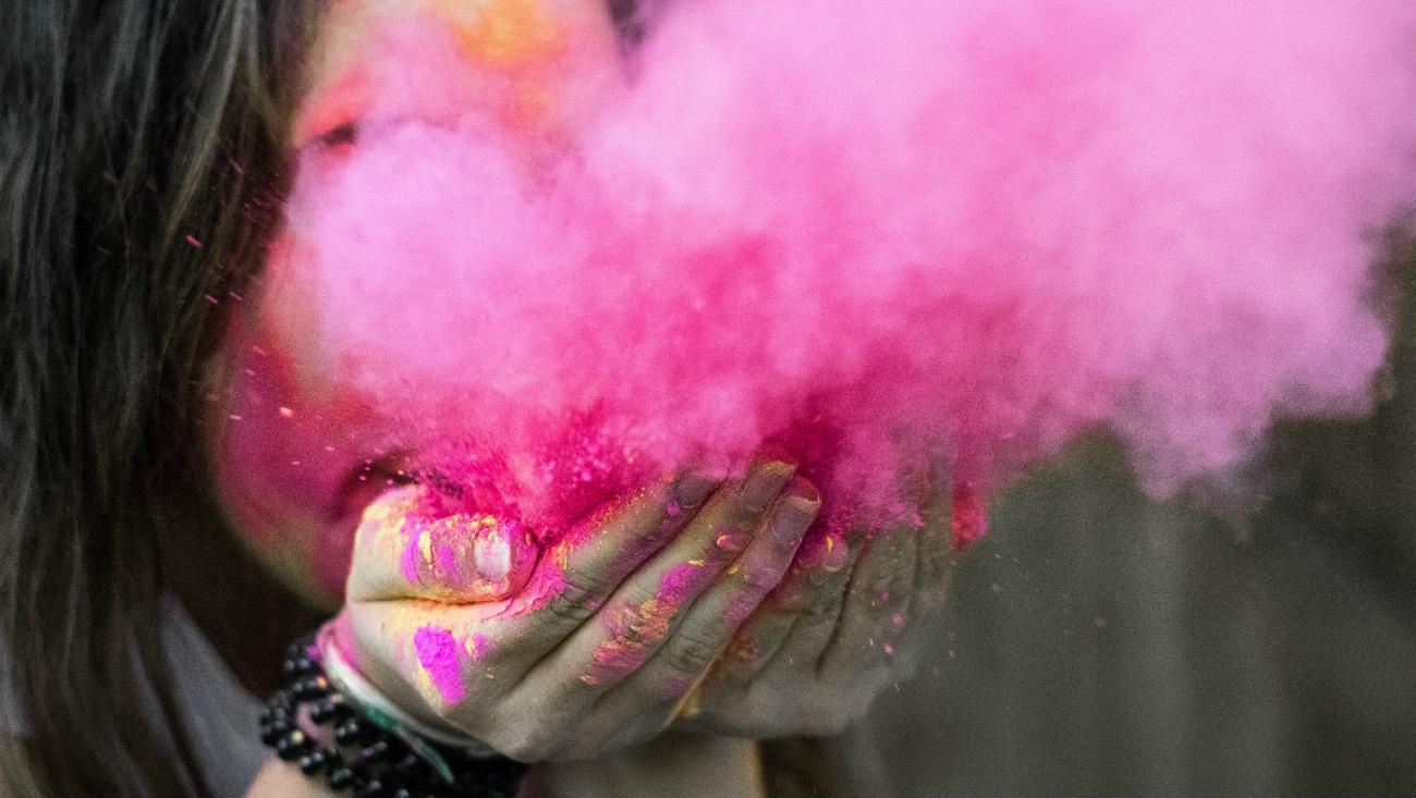 Une explosion de couleurs