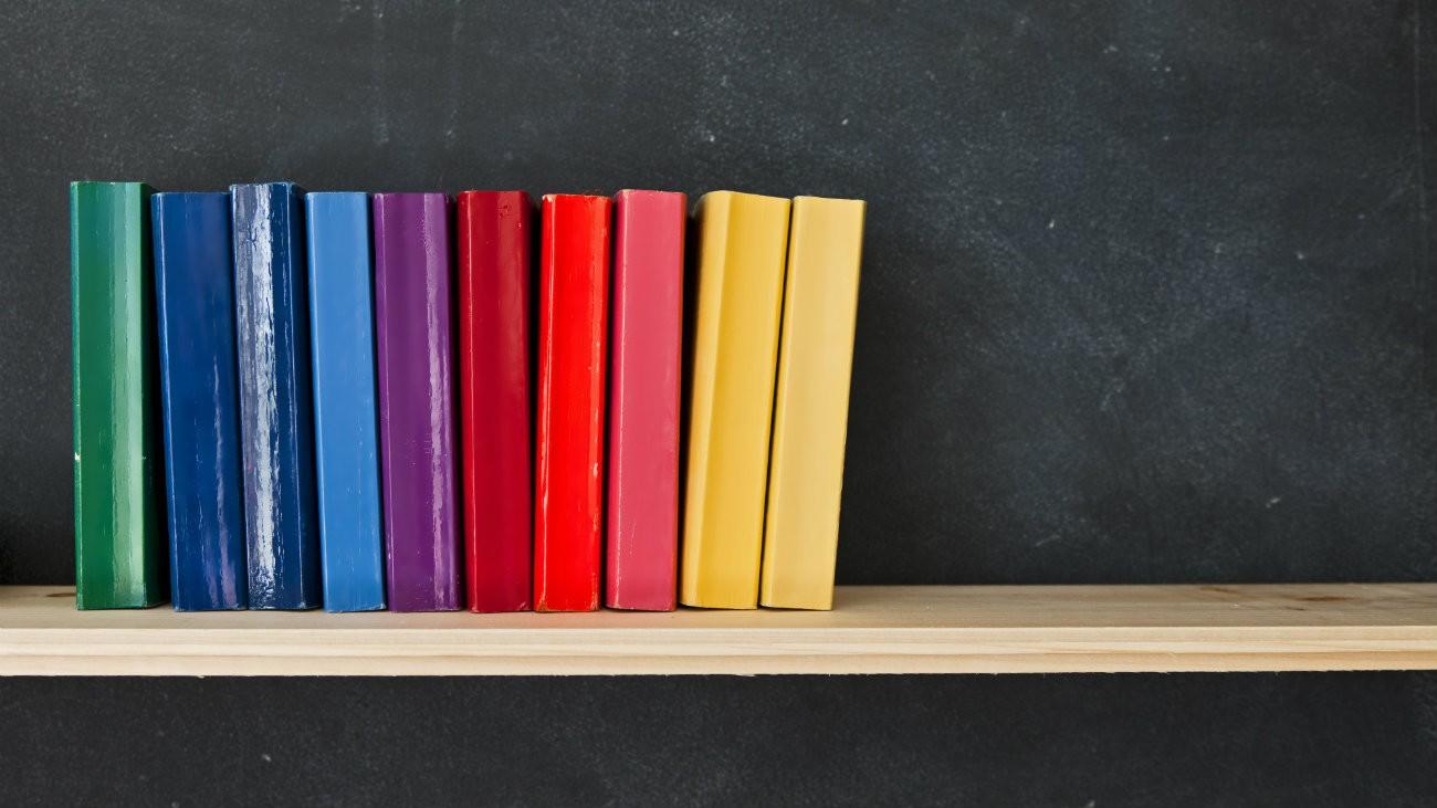 Bibliothèque de livres LGBT+