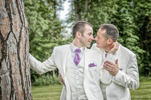 Photo d'un mariage gay par Karine Puech