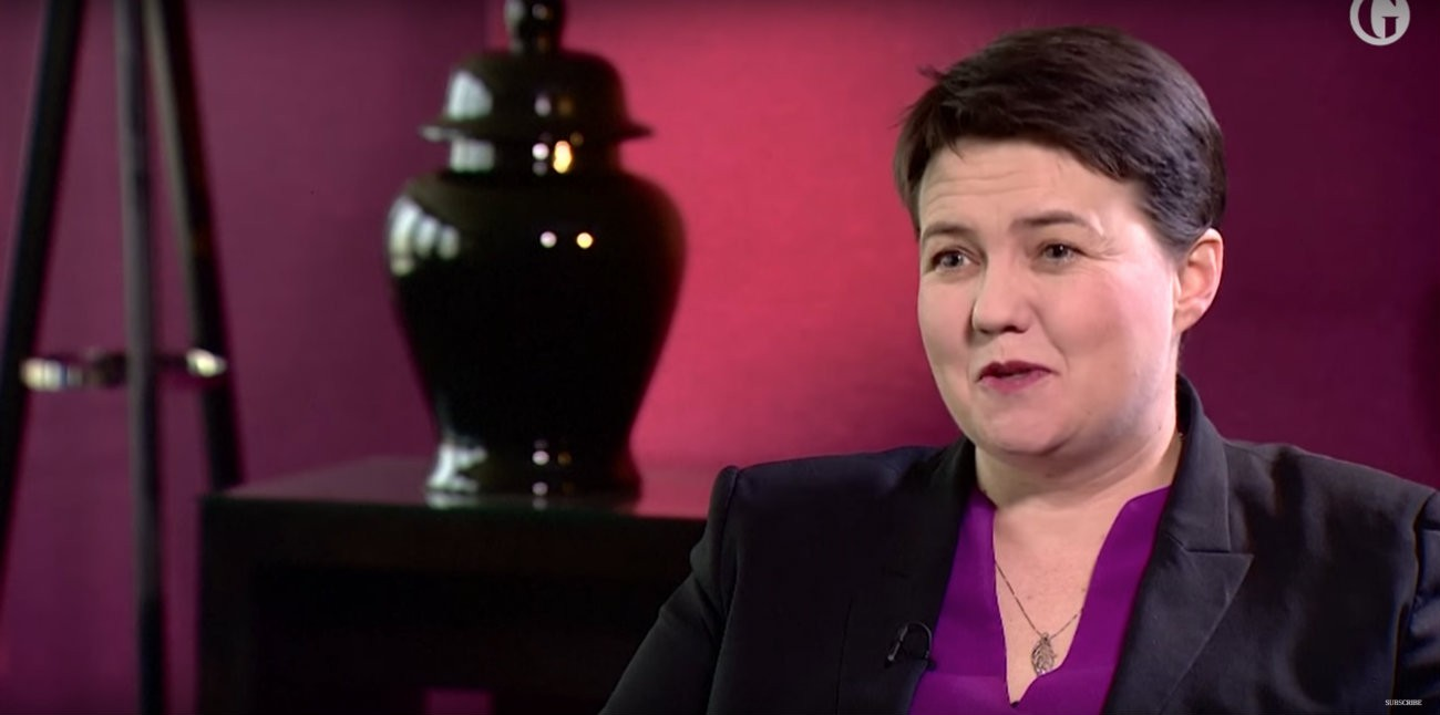 Ruth Davidson - Capture d'écran YouTube / The Guardian