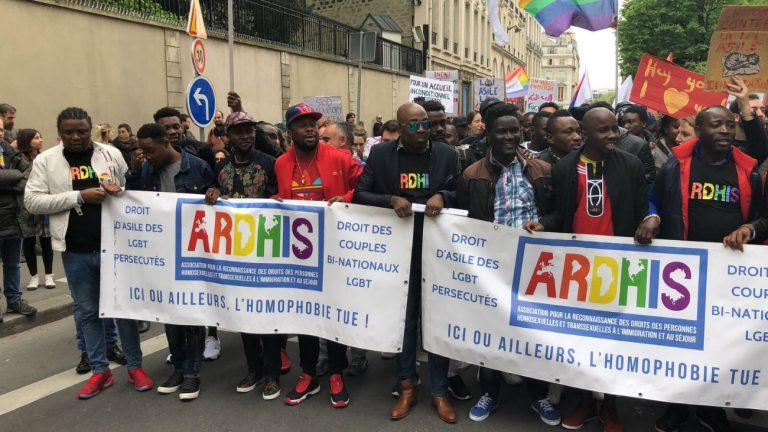 La manifestation contre la loi asile-immigration dimanche 15 avril 2018
