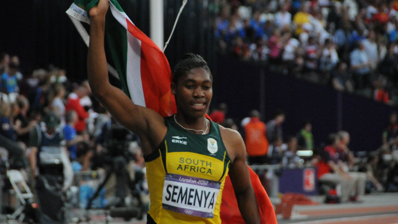 Caster Semenya aux JO de Londres en 2012 - Citizen 59 / Flickr