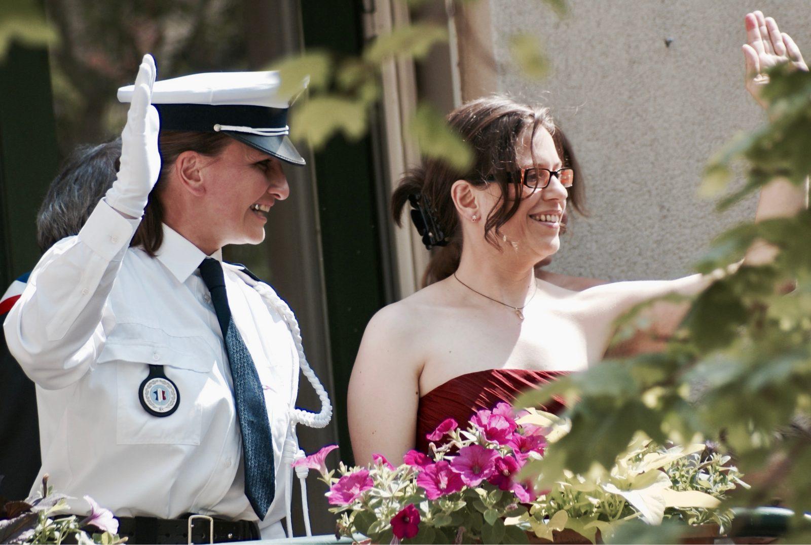Laurence, 47 ans, Audrey, 41 ans, ensemble depuis 2007, pacsées en 2009, mariées en 2014