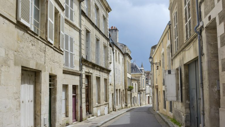 Une rue de Poitiers
