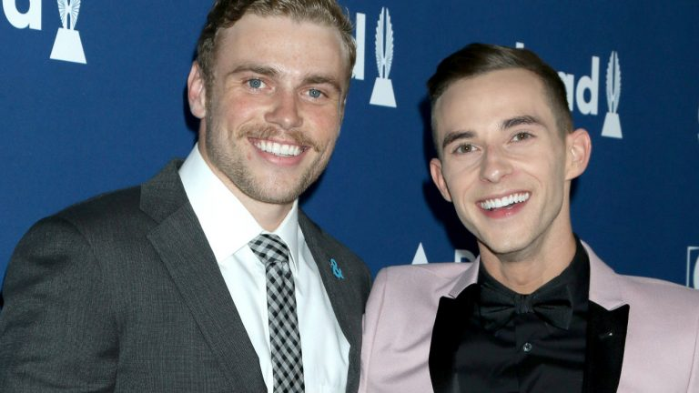 Adam Rippon et Gus Kenworthy aux Glaad Media Awards le 12 avril 2018 - Kathy Hutchins / Shutterstock.com