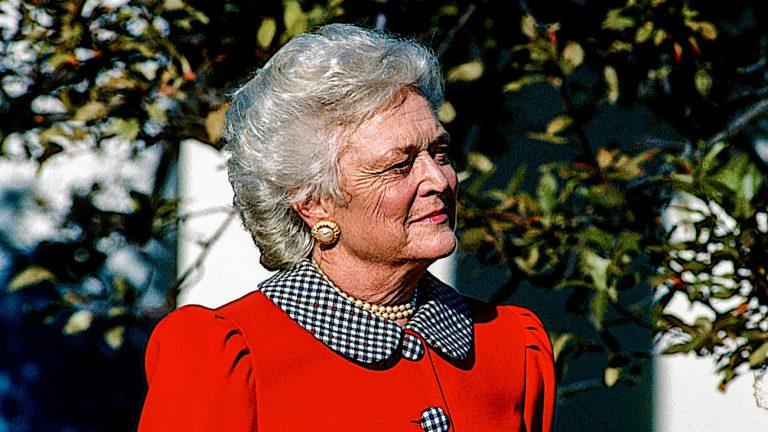 L'ancienne Première dame des États-Unis, Barbara Bush, est décédée le 17 avril 2018