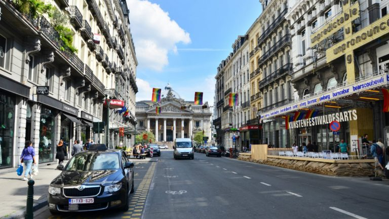 Bruxelles, quartier de la Bourse - Sira Anamwong / Shutterstock