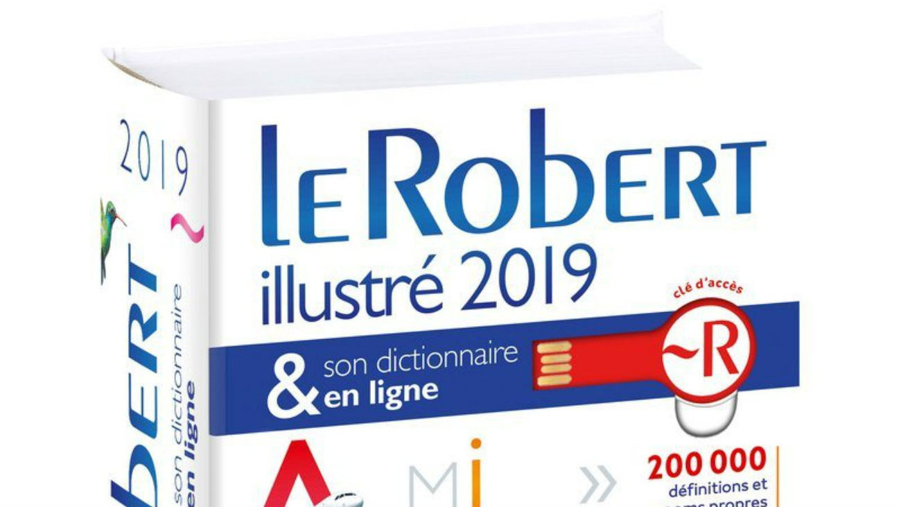 Couverture du Robert 2019