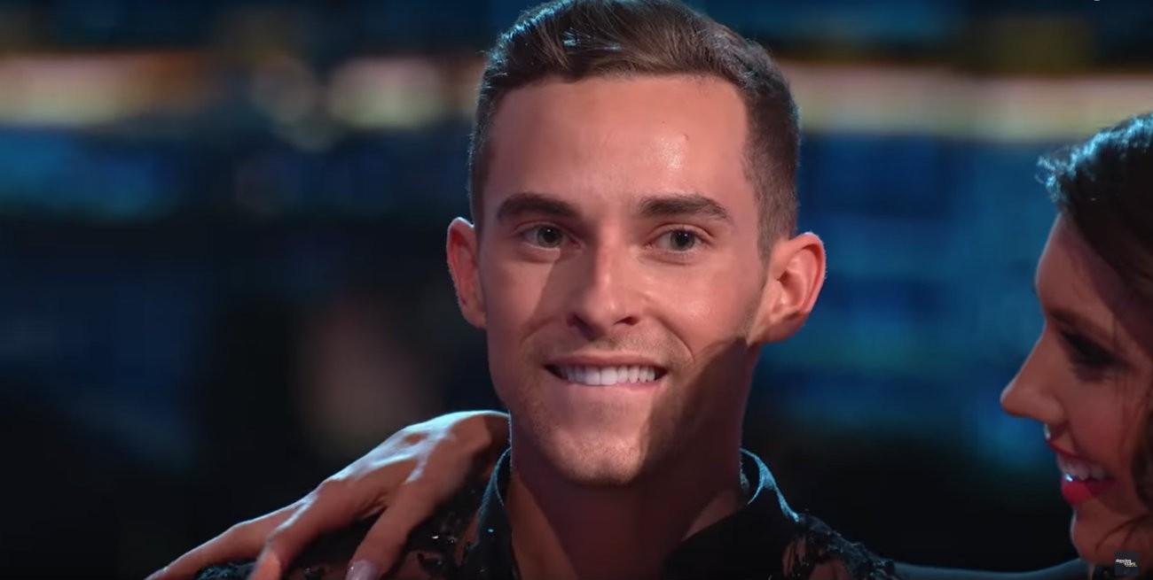 Adam Rippon dans la version américaine de « Danse avec les stars », lundi 30 avril - Capture d'écran YouTube / Dancing With The Stars