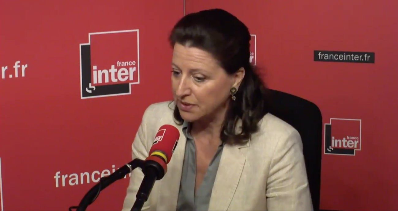 La ministre de la Santé, Agnes Buzyn - Capture d'écran / France Inter
