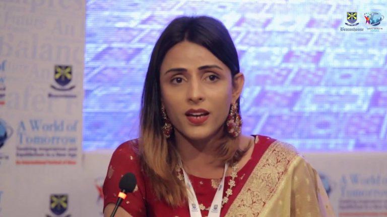 Kami Sid, mannequin ouvertement trans et militante pakistanaise
