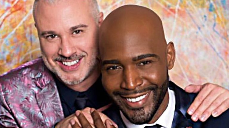 Karamo Brown et son fiancé Ian Jordan - Karamo Brown / Instagram
