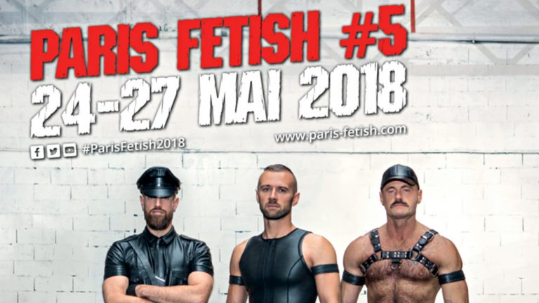 Affiche de la Paris Fetish 2018
