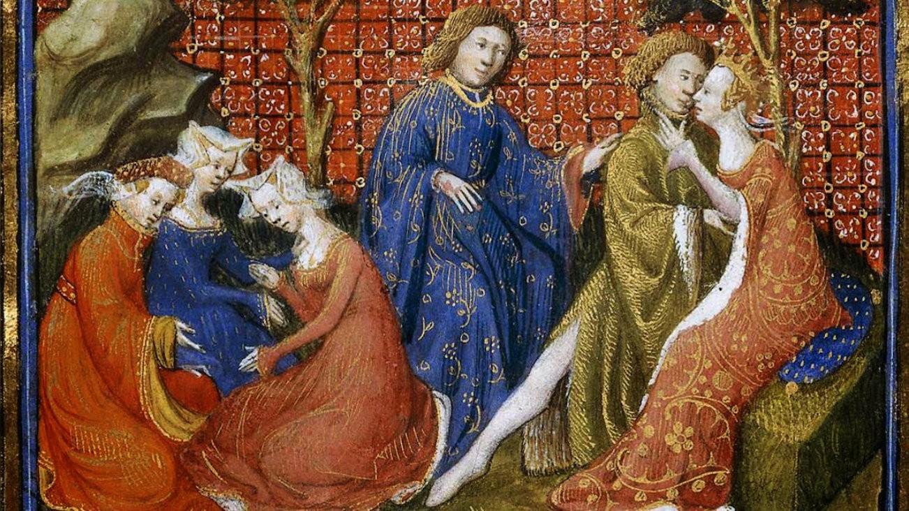 L'amour au Moyen Âge