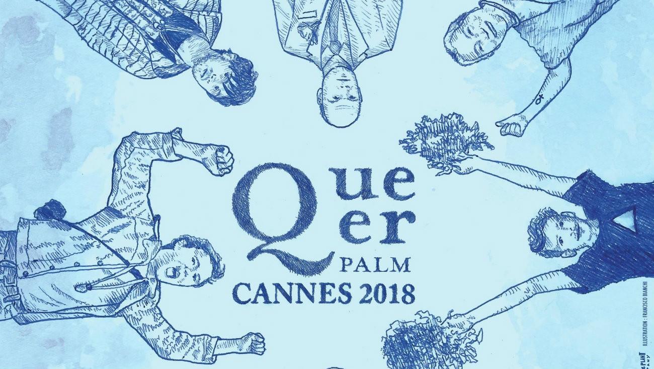 L'affiche de la Queer Palm 2018 /