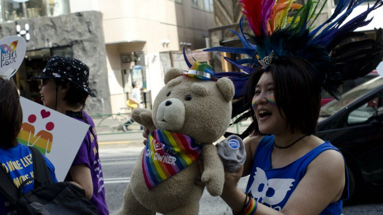 Photo prise lors de la Tokyo Rainbow Pride 2018