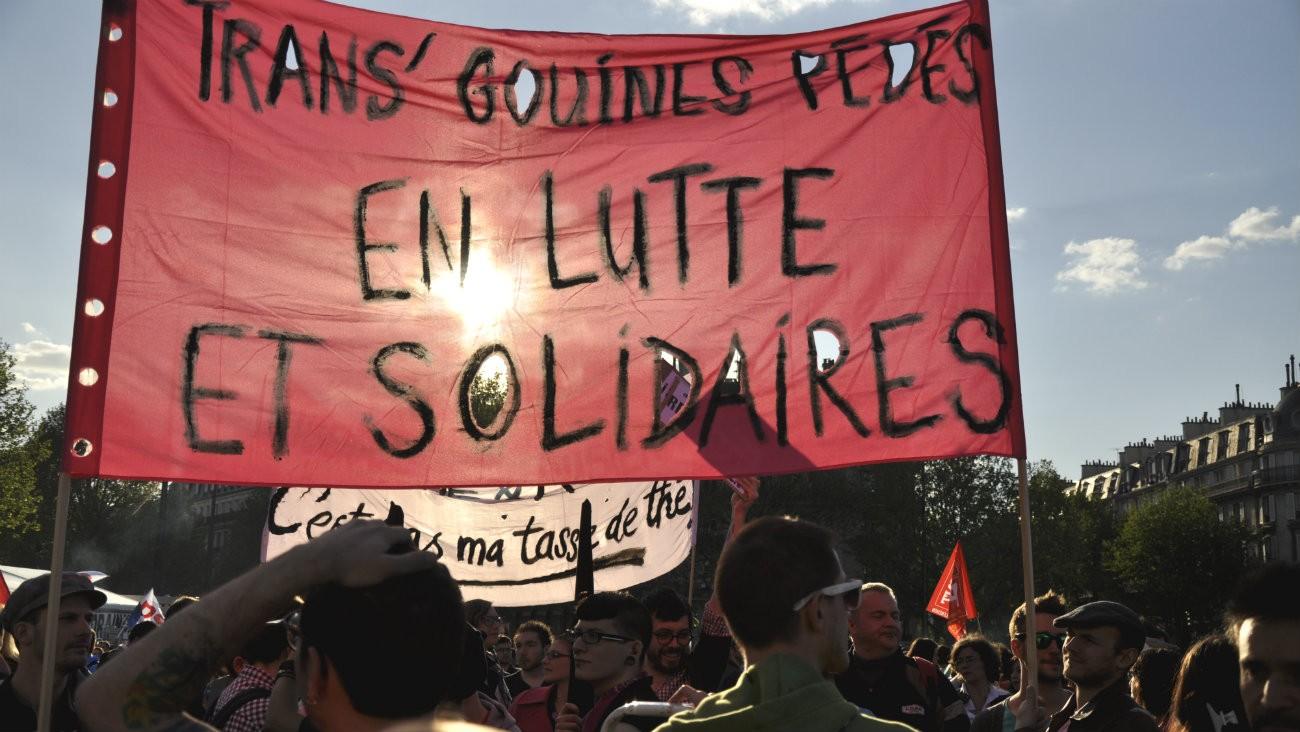 Rassemblement à Paris en 2012 - LGBTI75 / Flickr