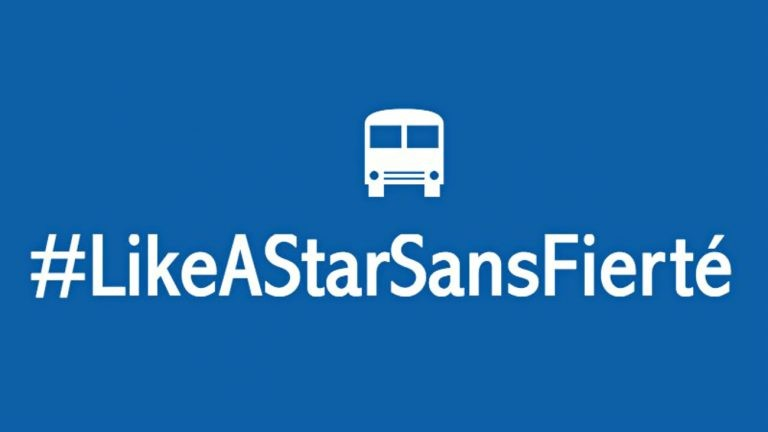 Campagne #LikeAStarSansFierté à Rennes