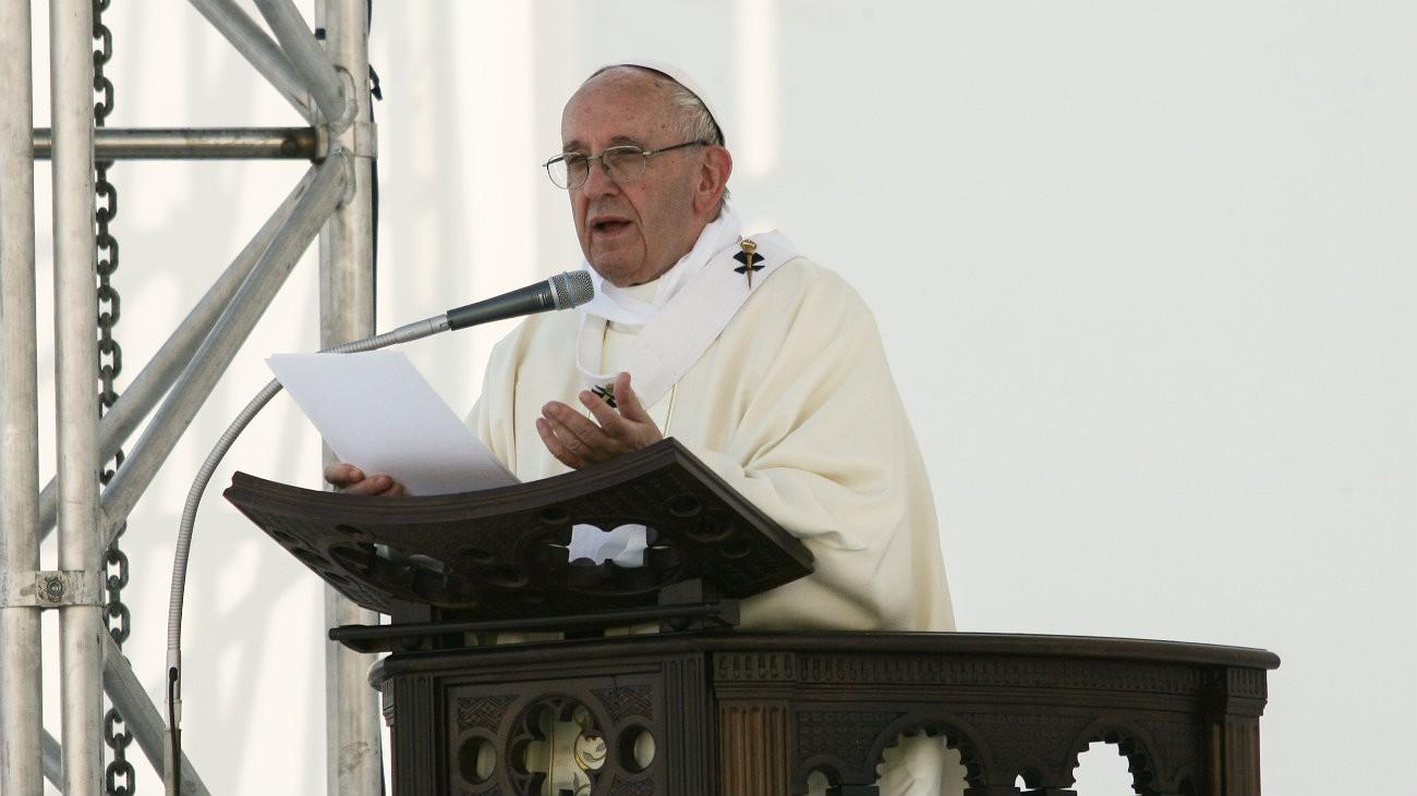 Le Pape François en mai 2017 à Gênes - Foto di stock / Shutterstock.com