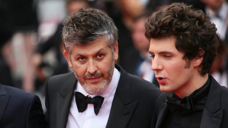 Christophe Honoré et Vincent Lacoste à Cannes le 10 mai 2017