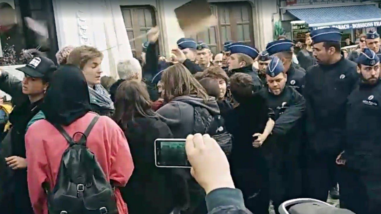Violences policières à la Belgian Pride 2018a