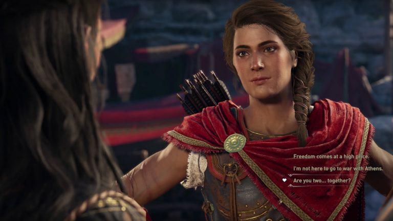 «Assassin's Creed Odyssey » : des romances gays et lesbiennes au programme !