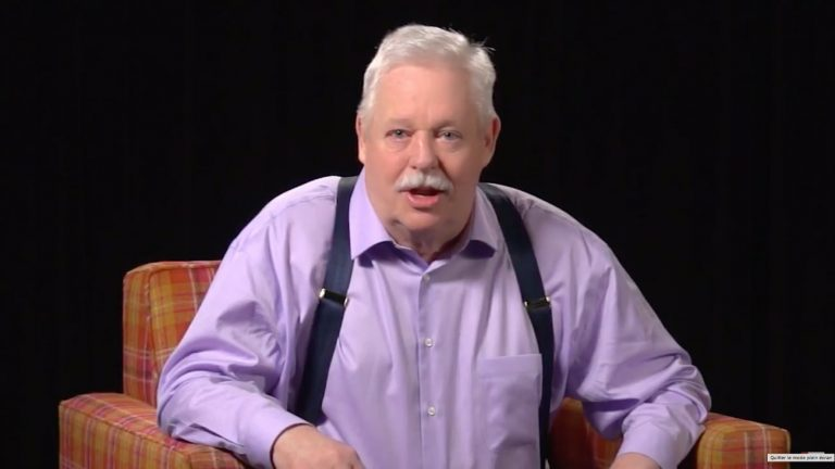 Armistead Maupin - Capture d'écran YouTube Library Love Fest