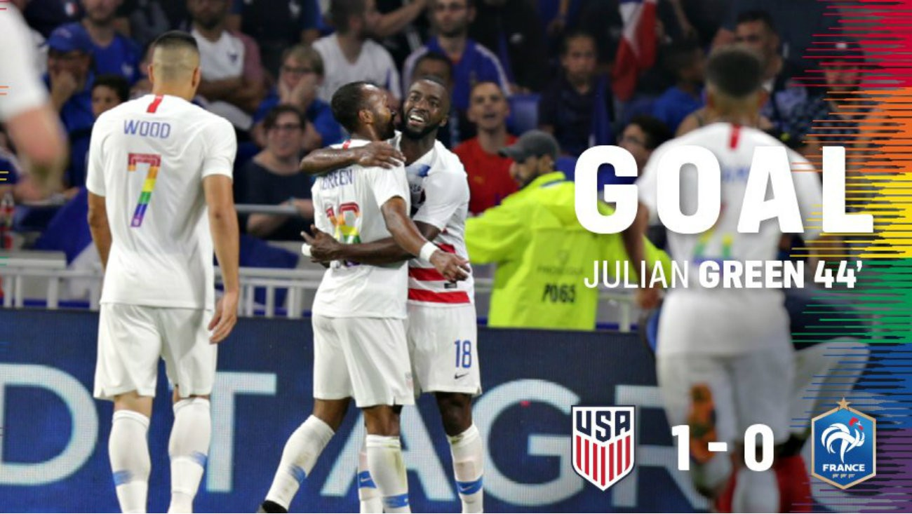 Football Face Aux Bleus L Equipe Americaine Fait Sensation Avec