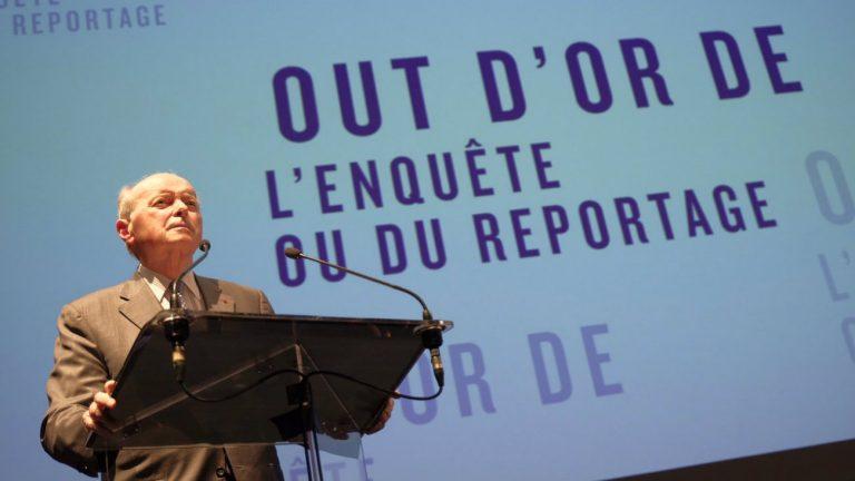 Jacques Toubon à la cérémonie des OUT d'Or 2018