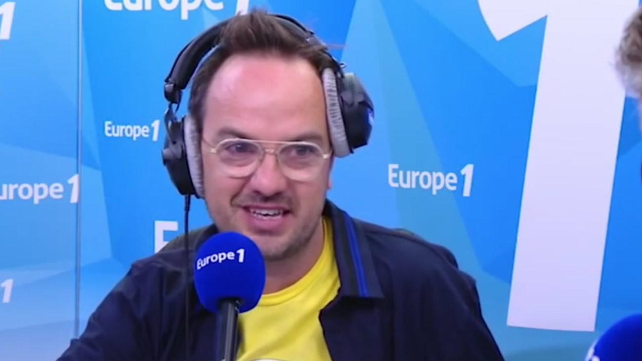 L'humoriste Jarry - Capture d'écran Europe 1
