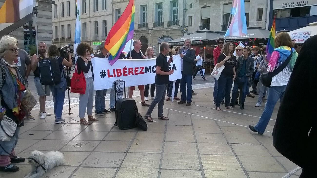 Des militant.e.s en soutien à Moussa - Peter / Flickr