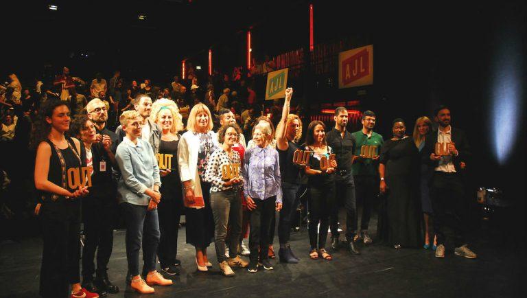 Les lauréats et lauréates de la 2ème édition des Out d'Or / JB Richard