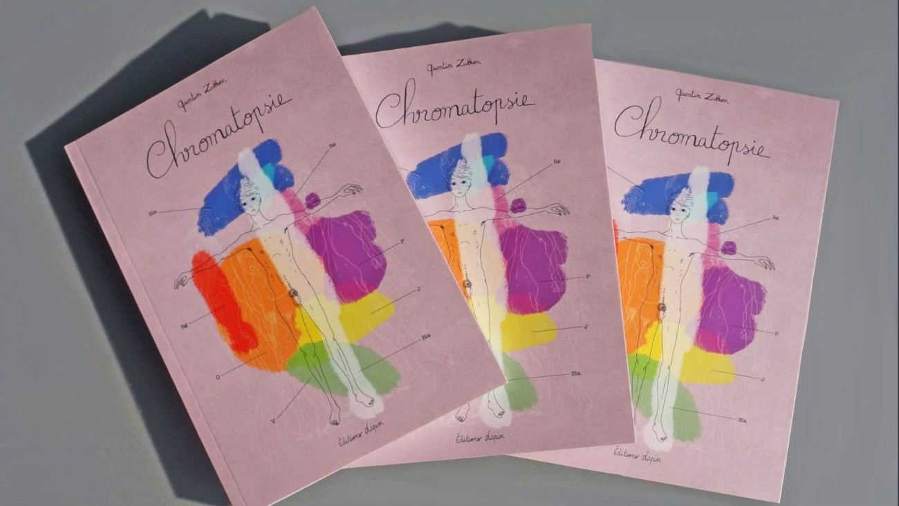 «Chromatopsie » de Quentin Zuttion - Éditions Lapin