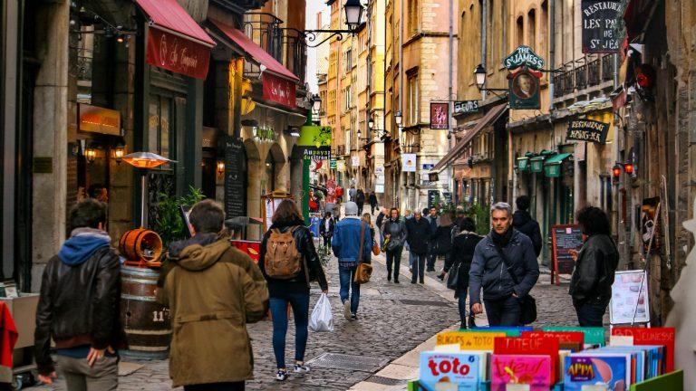 Le quartier du Vieux Lyon -Jorge Franganillo / Flickr