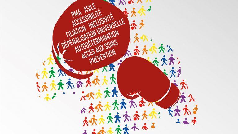 Affiche de la Marche des Fiertés de Paris 2018
