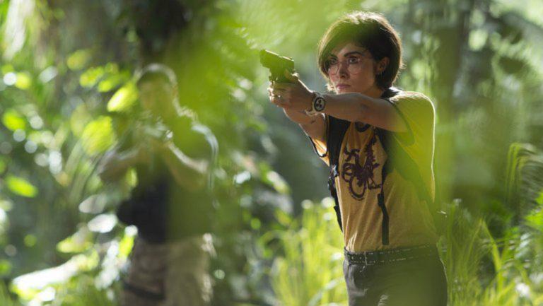 Daniella Pineda dans Jurassic Park : Fallen Kingdom