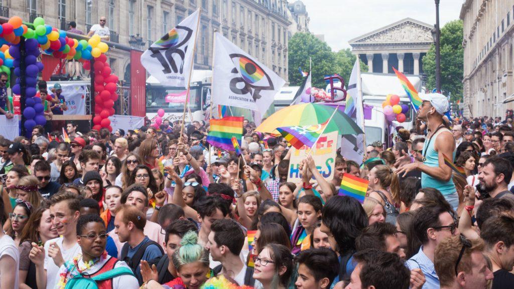 Marche des fiertés de Paris, juin 2017 - Neil Anton Dumas / Shutterstock
