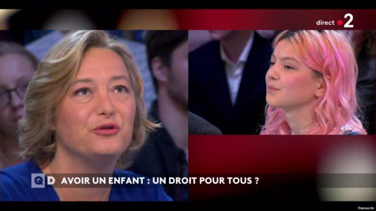 Ludovine de la Rochère face à Fiorella Mennesson - Capture / France 2
