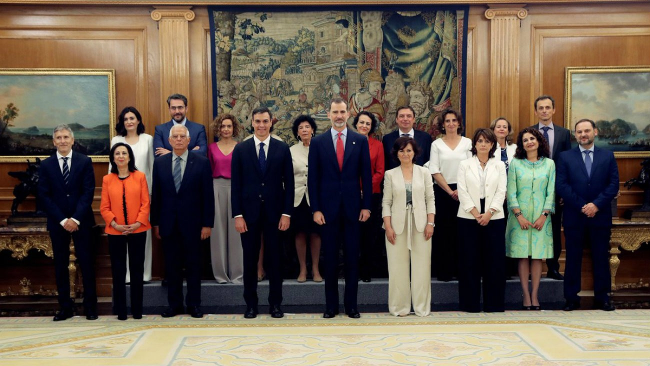 Le nouveau gouvernement de Pedro Sanchez