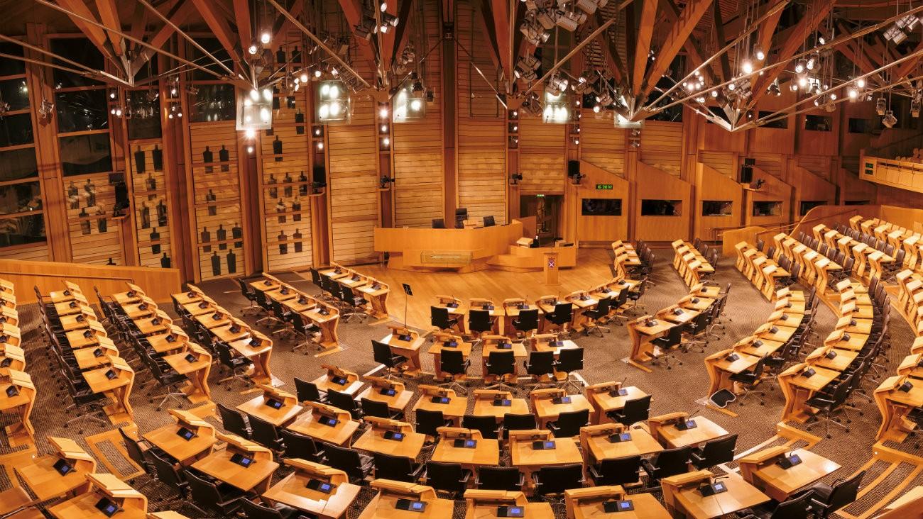 Le Parlement écossais vu de l'intérieur - Ulmus Media / Shutterstock