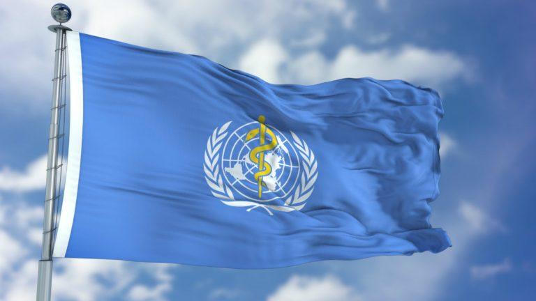 Le logo de l'OMS