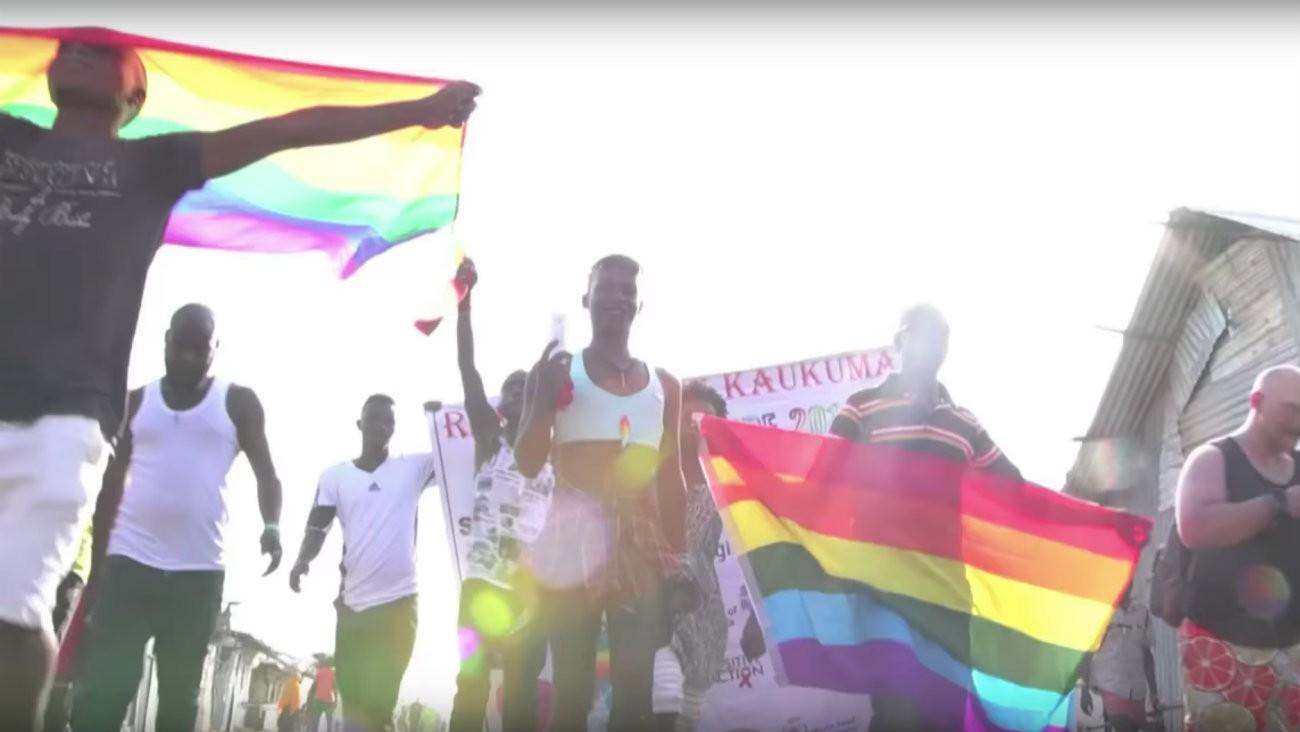Voici les images de la première Pride à avoir lieu dans un camp de réfugié.e.s