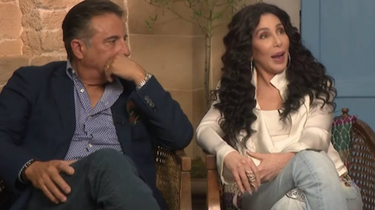 Andy Garcia et Cher - capture Facebook / GLAAD
