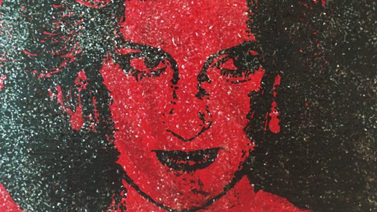 portrait princesse Diana sang VIH conor collins