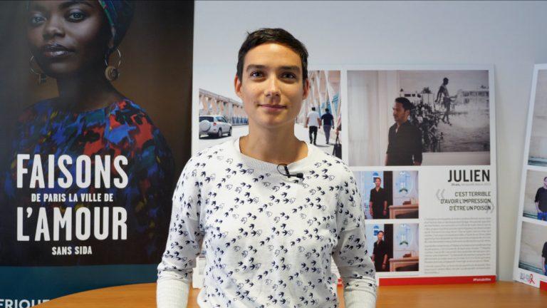 Eve Plenel, directrice générale de Paris sans sida - Maëlle Le Corre / Komitid